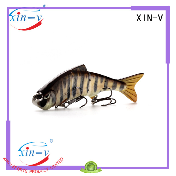 XINV Brand stick hard swim bait manufacture