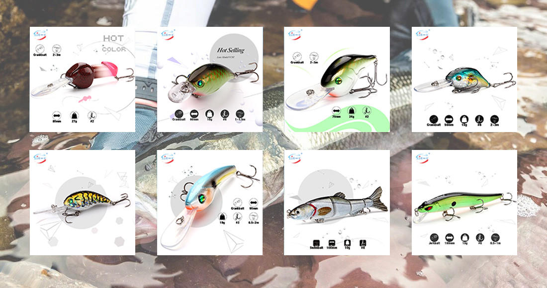 XIN-V -Professional Bass Baits For Sale Bass Lures Manufacture-1