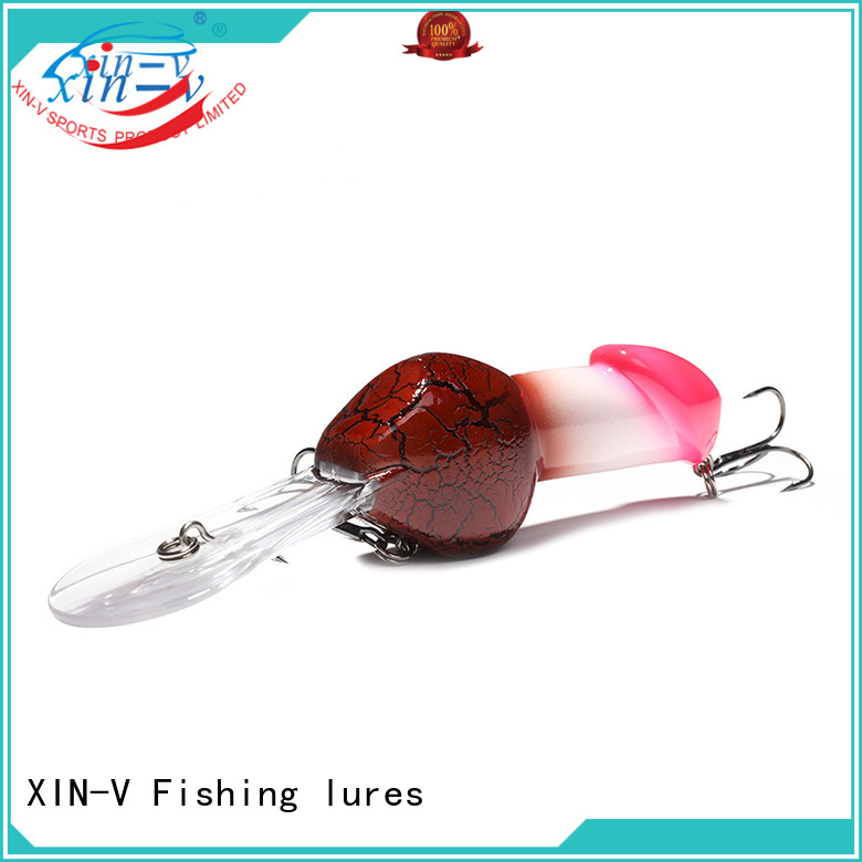 thrill bass lures virbrtor XINV company