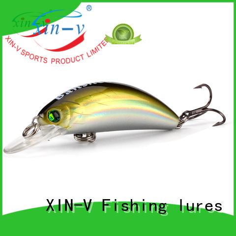 Custom thunder bass lures artificial XINV