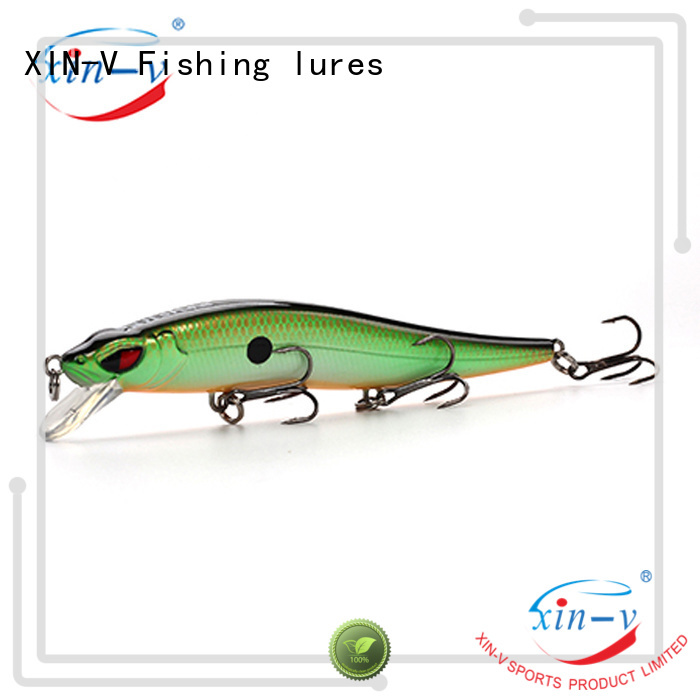 sound floating bass jerkbait lures XINV manufacture
