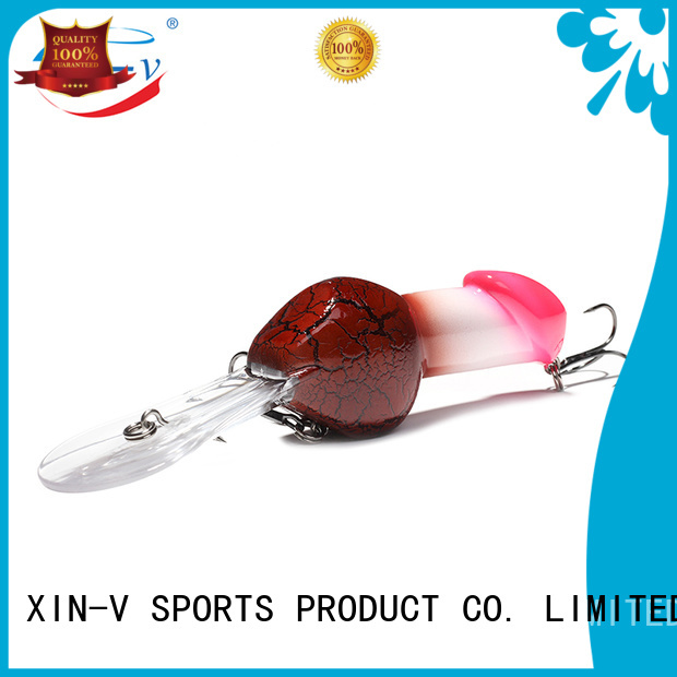 XINV Brand thunder minnow custom small fishing lures