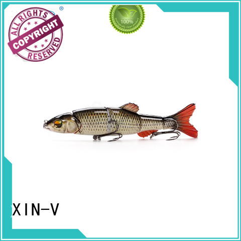 Custom artificial dog swim bait XINV pike