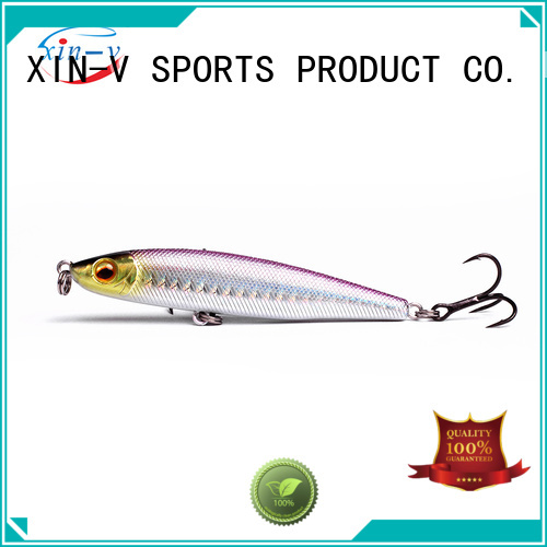XINV Brand bullet colors pencil bass lures
